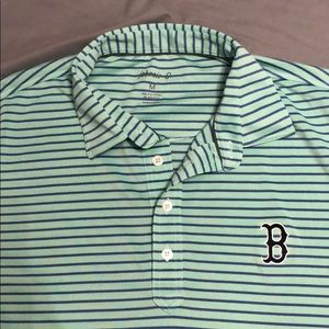Men's Johnnie-O Red Sox golf shirt.  Size M.